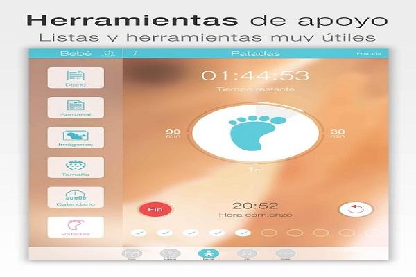 Embarazo+, la app ideal para las madres que esperan un bebé