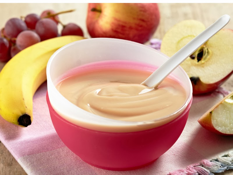 Las 7 papillas de frutas preferidas por los bebés