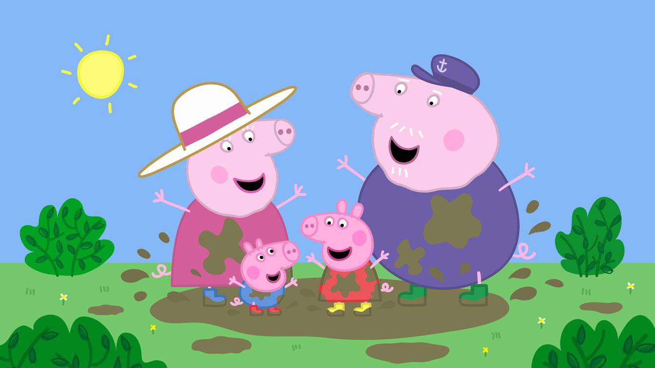 Peppa Pig y sus ventajas