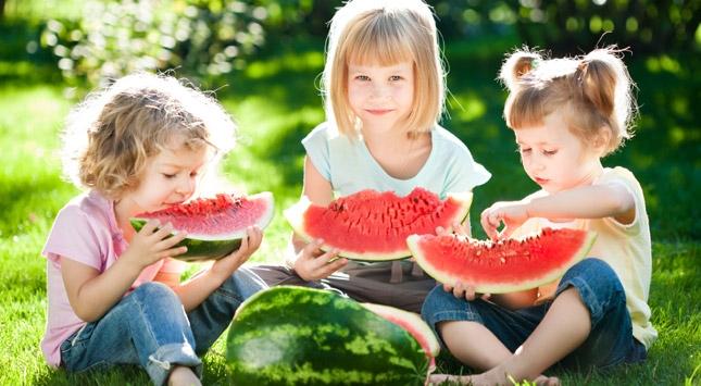 alimentacion de niños