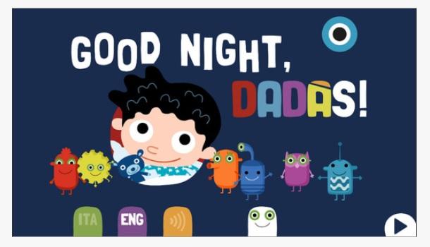 Good Night Dadas, la app para dejar de tener miedo a la oscuridad