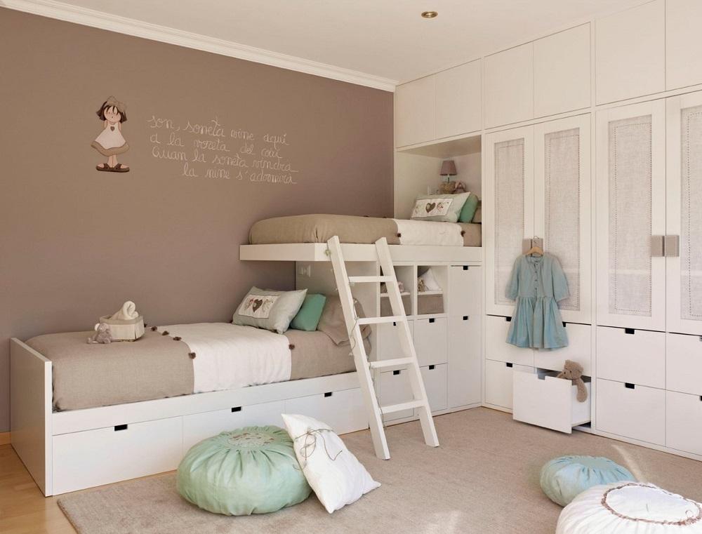 Los mejores armarios para decorar un cuarto infantil