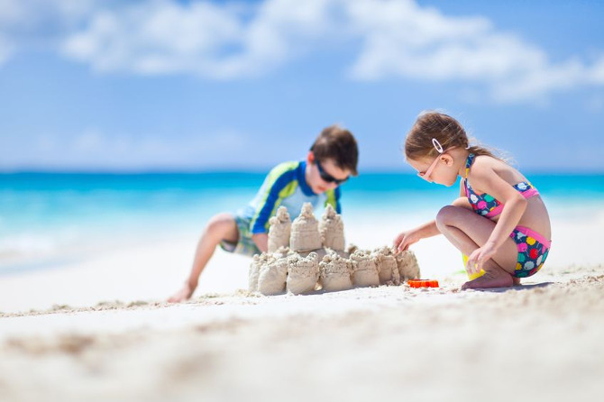 Consejos para ir a la playa con los niños