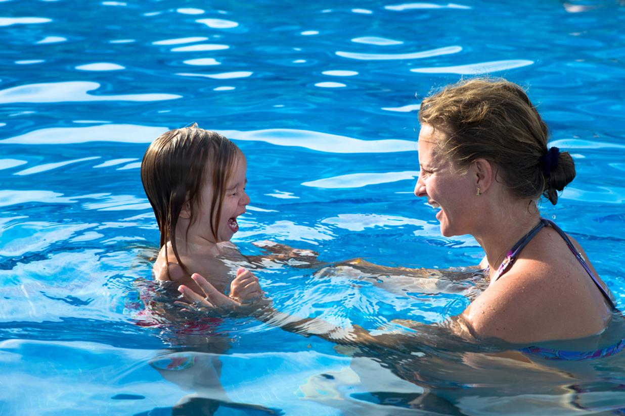 Los niños y el miedo al agua
