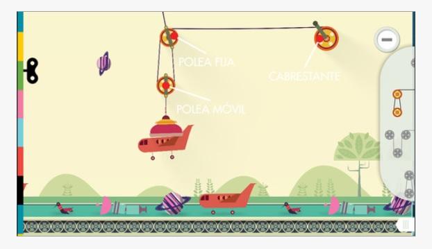 Máquinas simples, la app para que los niños aprendan física