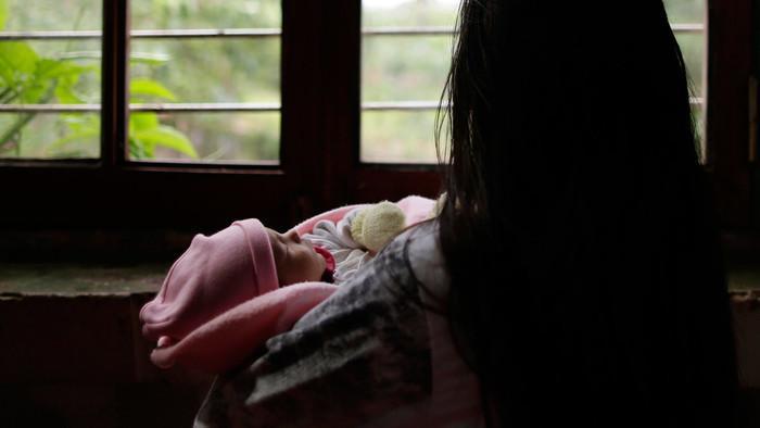 niña-parto