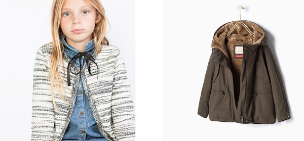 cecb6b819ba3 Zara y sus prendas de niña para la temporada otoño-invierno