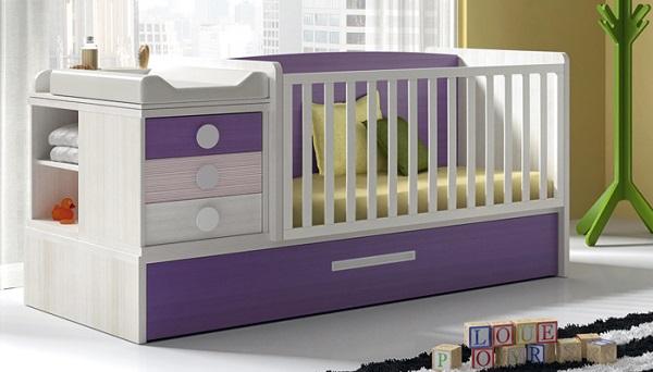 Muebles básicos para la habitación de un recién nacido
