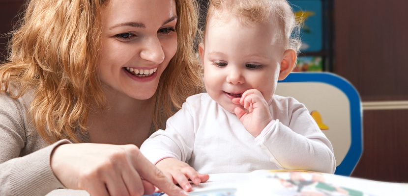 Los mejores libros para leerle a un bebé de seis meses