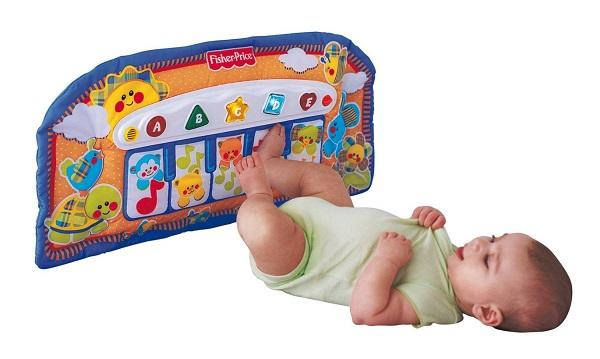 Regalos para bebés que cumplen seis meses - Manta piano