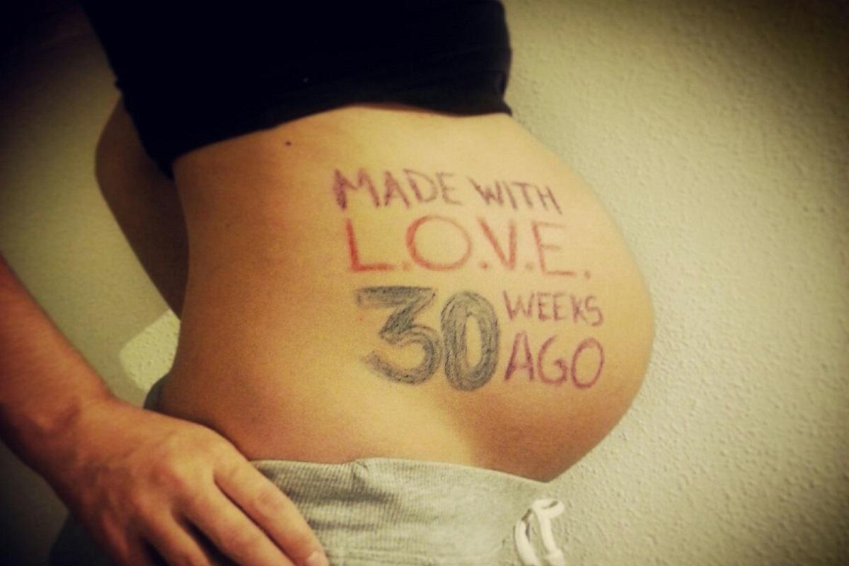 3f77390ce Calendario de embarazo  de la semana 30 a la 33