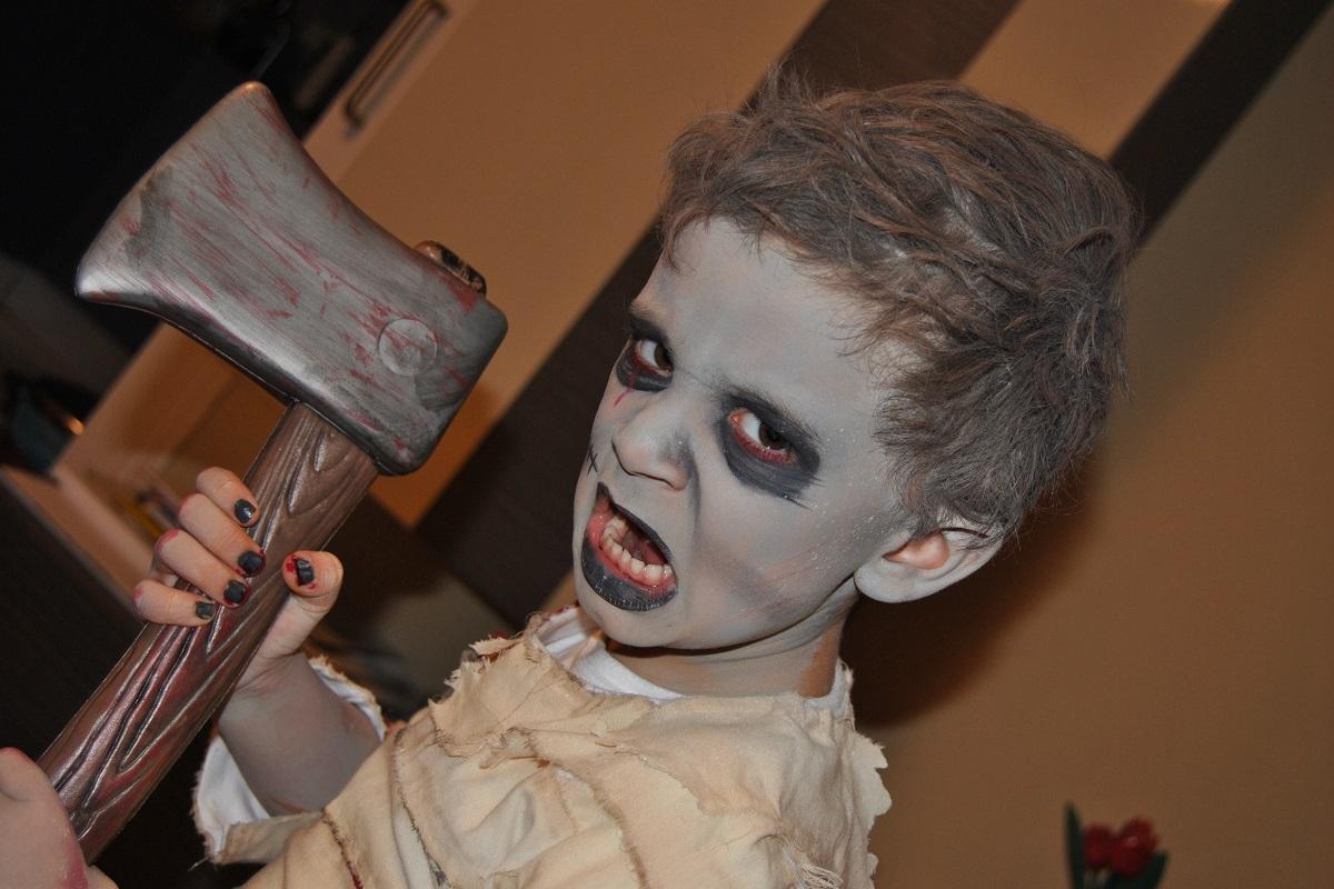 6 disfraces caseros de Halloween para nios
