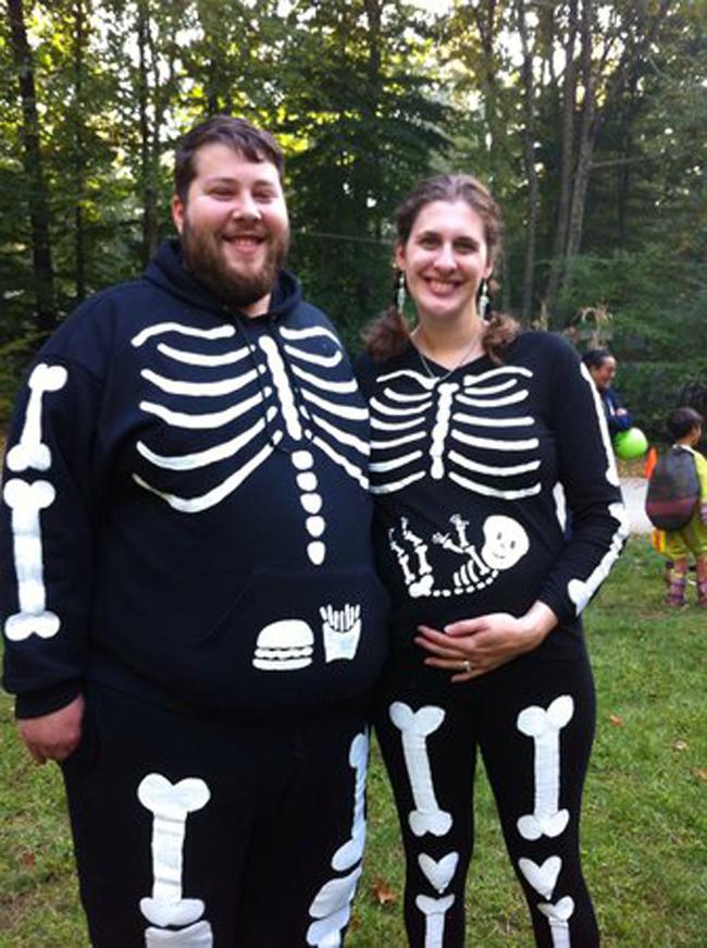 6 Disfraces De Halloween Para Embarazadas - Disfraces-de-halloween-para-embarazadas