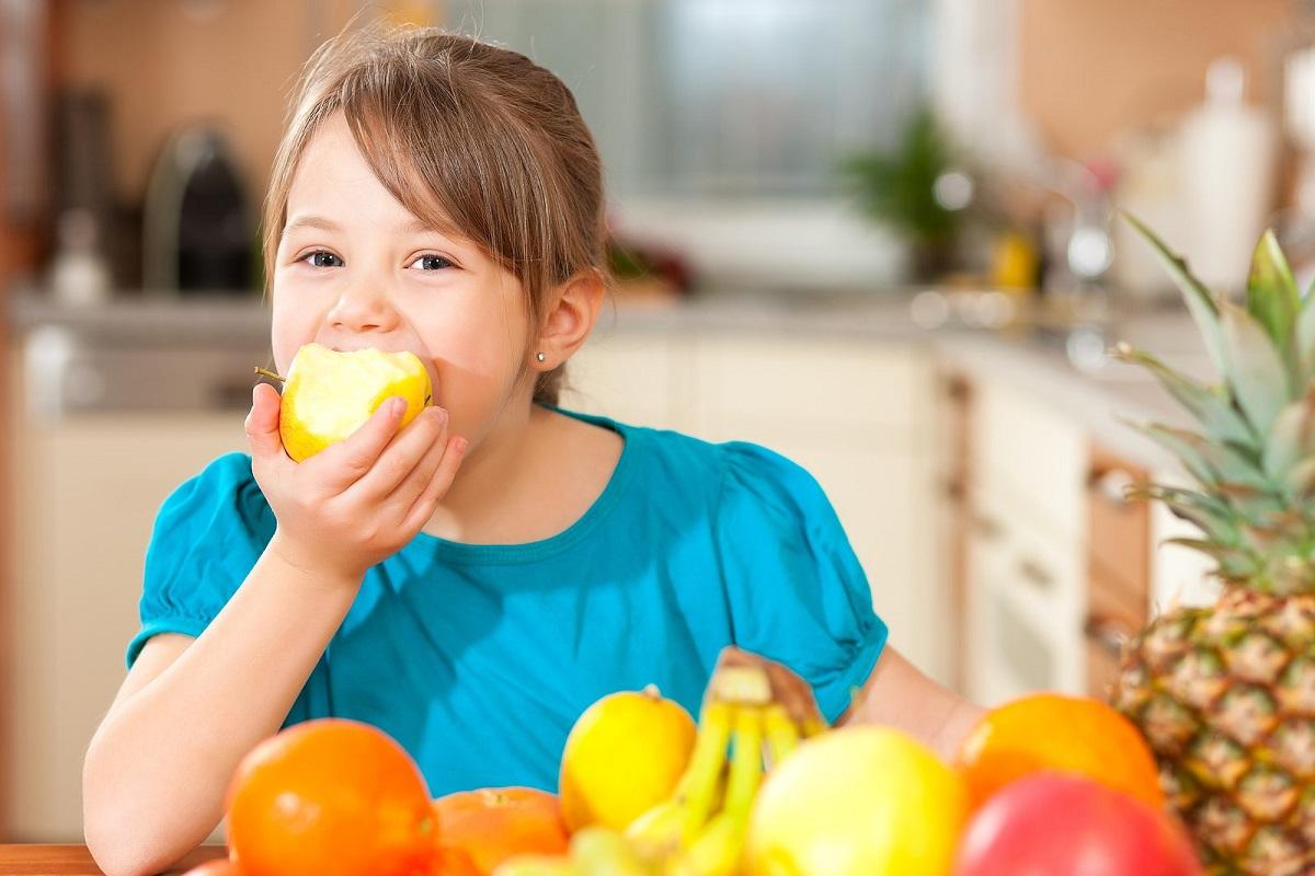Las 3 mejores frutas para la alimentación de los niños