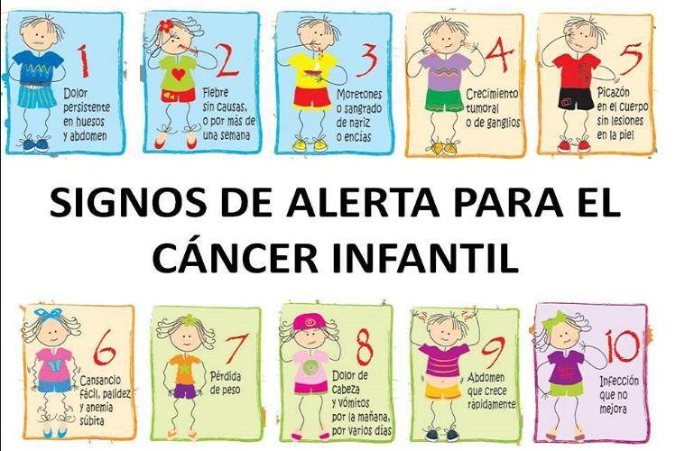 cancer abdominal infantil