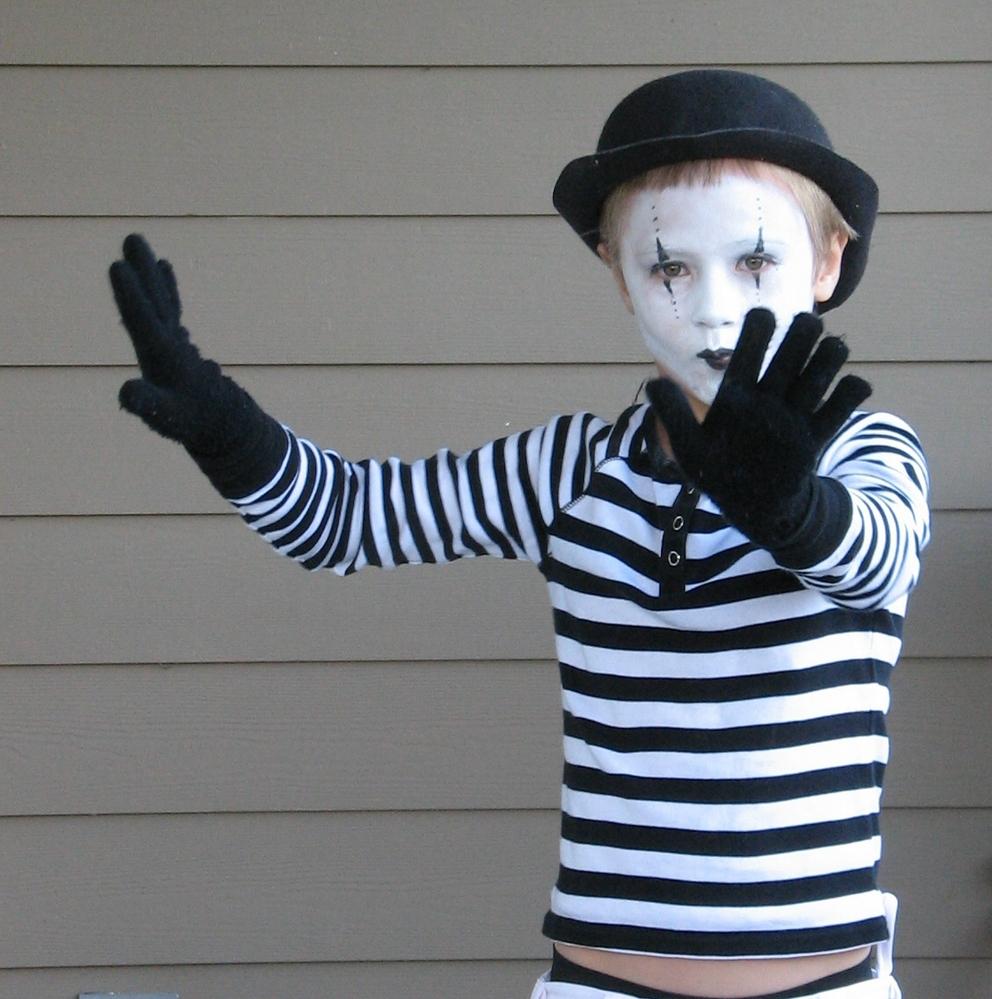 Disfraces caseros de Carnaval para niños 11fd3c32897c