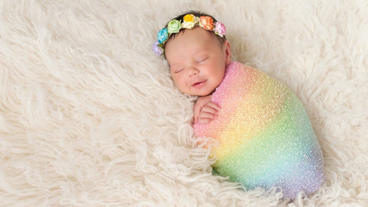 Bebé Arco Iris El Regalo Tras Una Pérdida