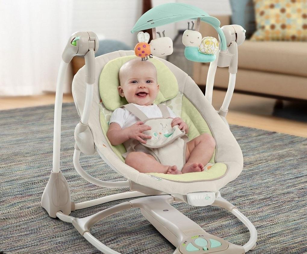 ¿Buscando hamacas para bebé? Descubre las más tecnológicas del mercado