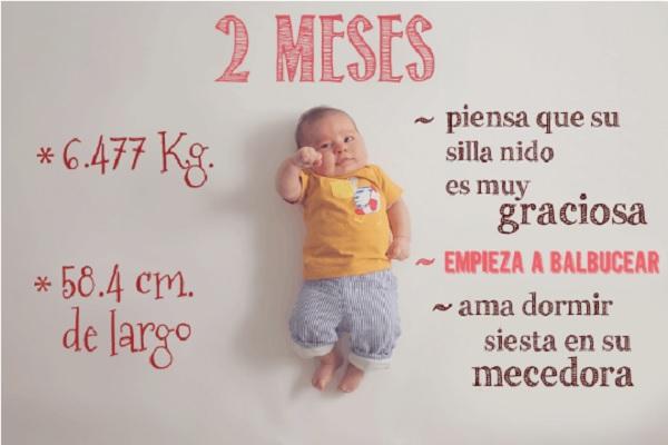 Una mam capta fotogr ficamente el primer a o de vida de su beb - Tos bebe 2 meses ...