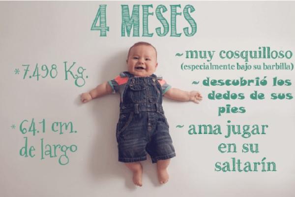 Una Mamá Capta Fotográficamente El Primer Año De Vida De Su Bebé