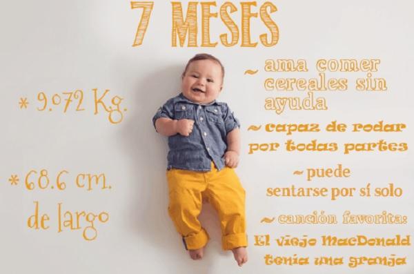 Mensagem De 6 Meses De Vida Do Bebe: Una Mamá Capta Fotográficamente El Primer Año De Vida De