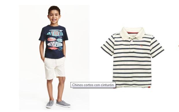 ¡Rayas en verano! Las propuestas de H&M para niño