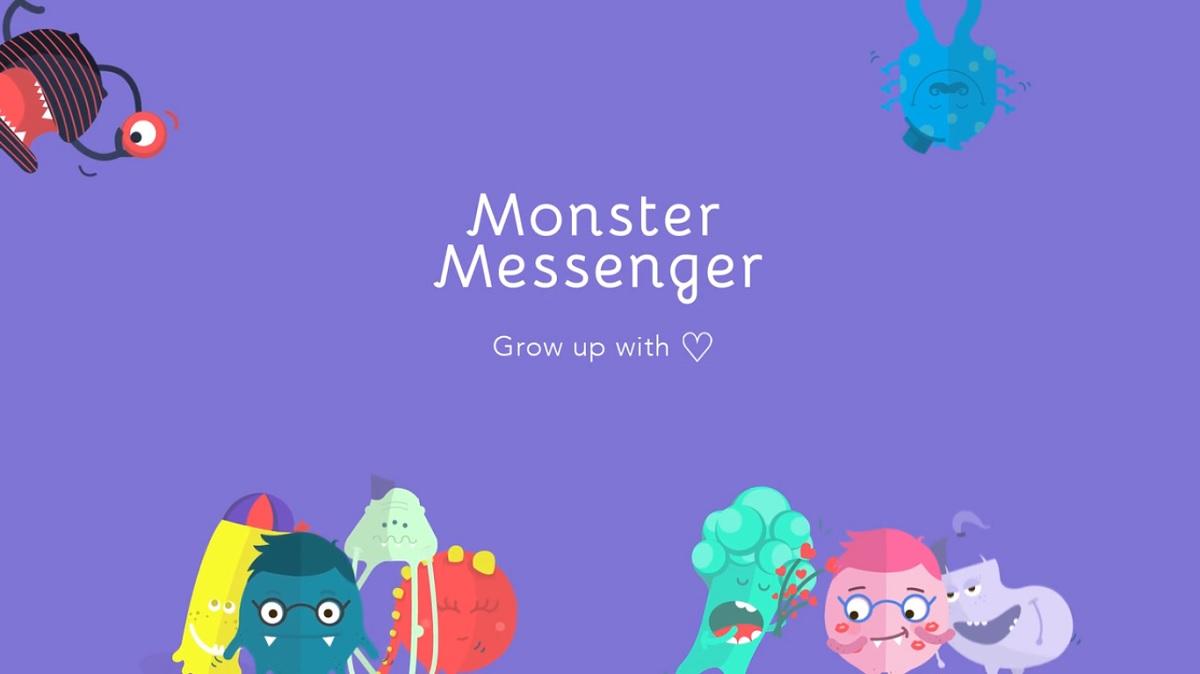 Monster Messenger, el servicio de mensajería para niños
