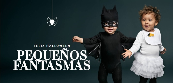 Pequeños fantasmas. La colección Halloween de H&M para bebés