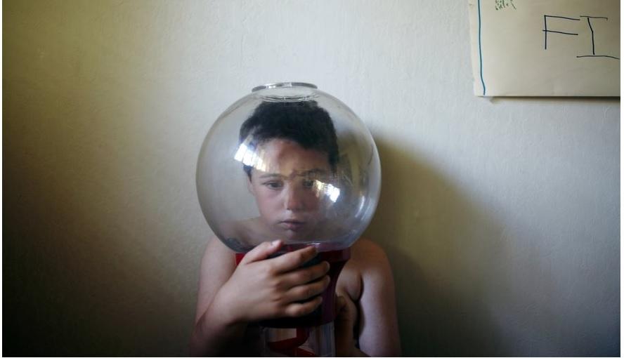 La emotiva serie fotográfica de un padre sobre su hijo autista