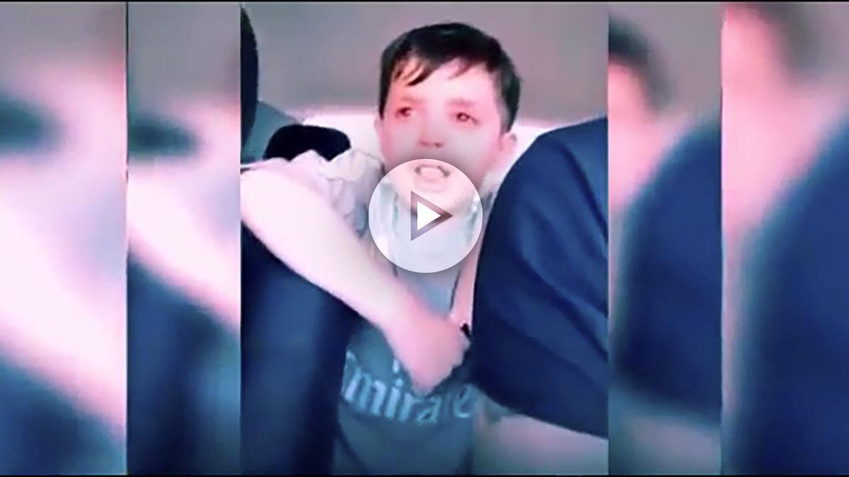 Viral: el niño desesperado porque no quiere ser ¡portero de fútbol!