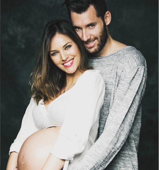 Helen Lindes y Rudy Fernández ¡ya son papás!