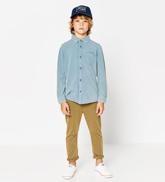 Rebajas en ropa de niño de Zara