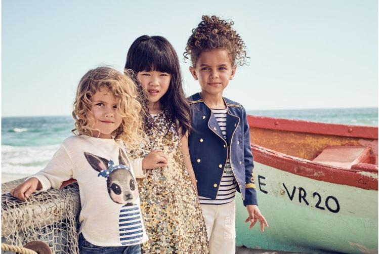 Colección primavera de H&M para niñas