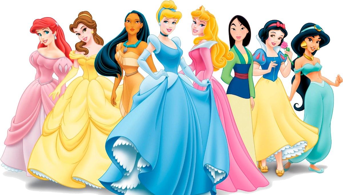 Las Princesas Disney Juntas En Una Película
