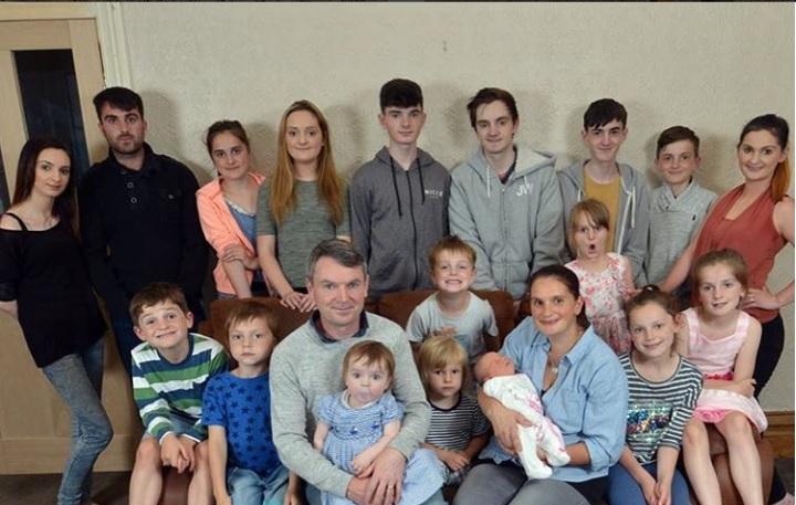 familia de 19 hijos
