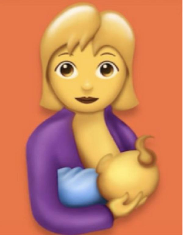 Nuevo emoji de lactancia