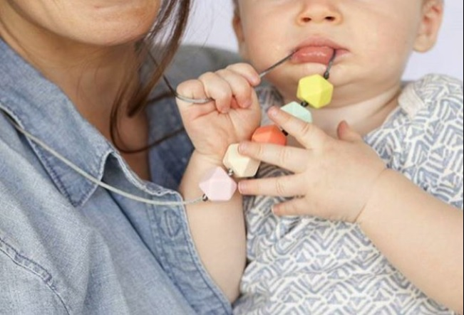Teething Necklace Los Collares De Mamá Para La Dentición Del Bebé