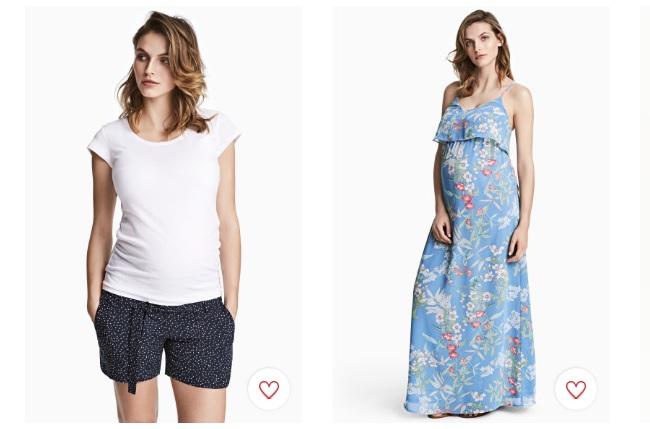 mirada detallada 76aa8 11dd1 Novedades en ropa premamá de H&M para Mayo 2017
