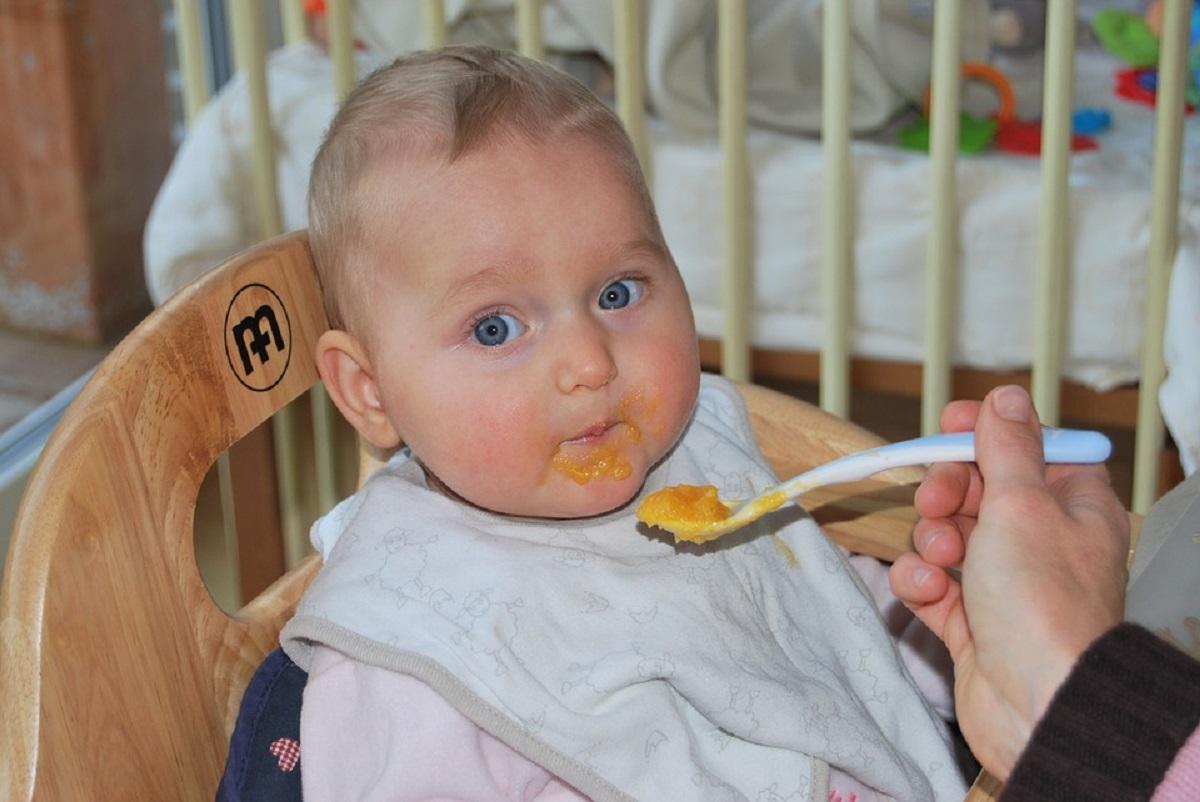 Desayuno del bebé