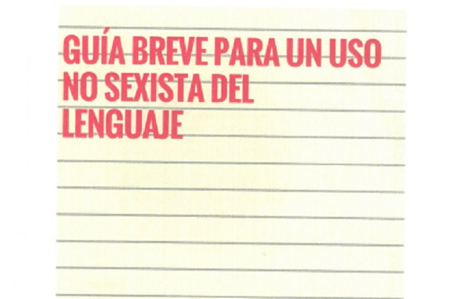 uso no sexista del lenguaje