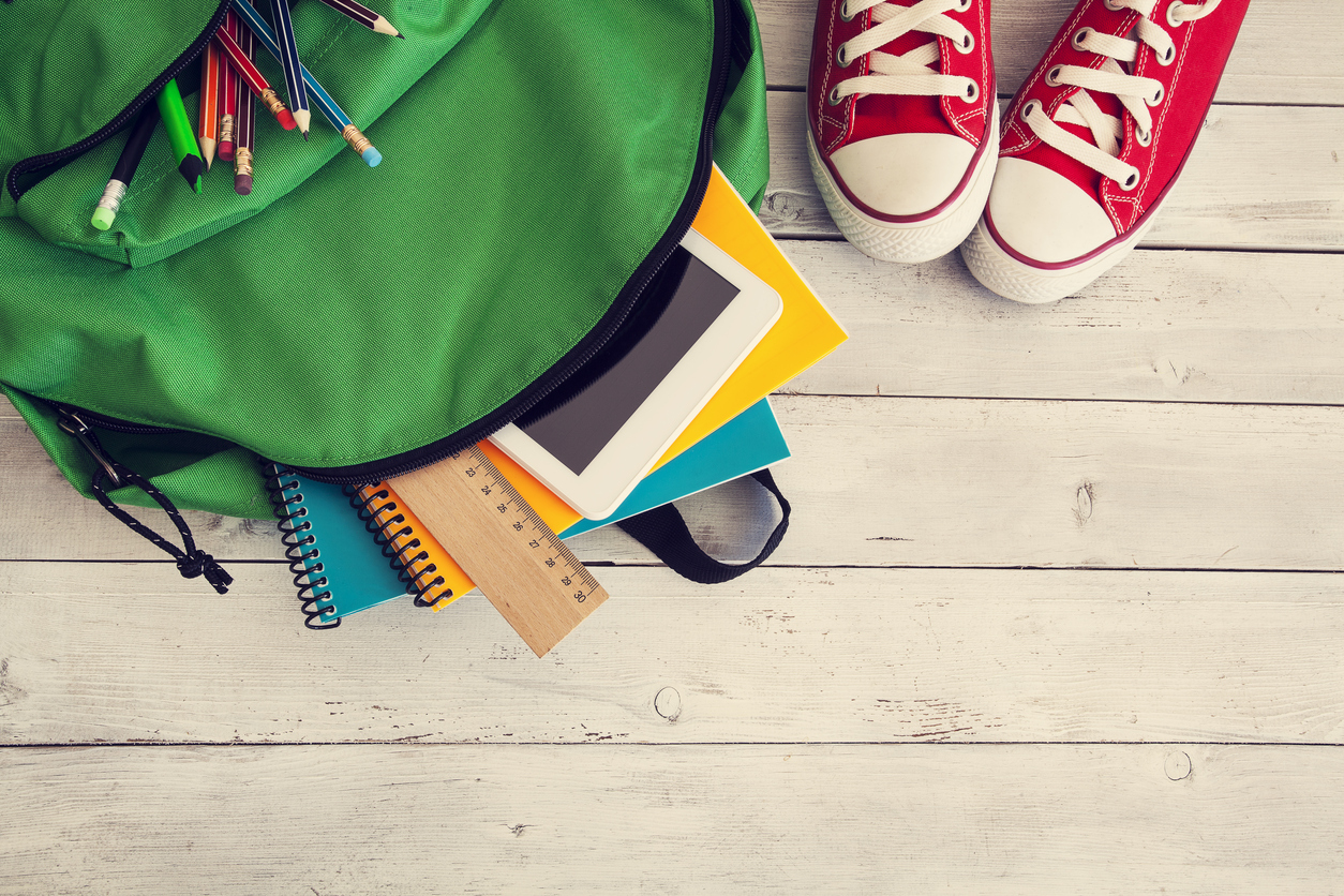 Padres e hijos deben prepararse para el comienzo del curso escolar