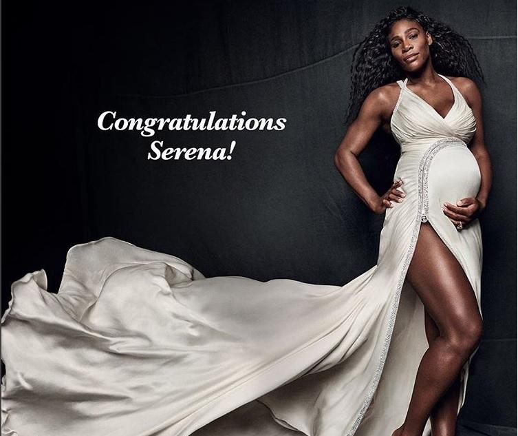 Serena Williams recibe las felicitaciones por su maternidad de Beyoncé