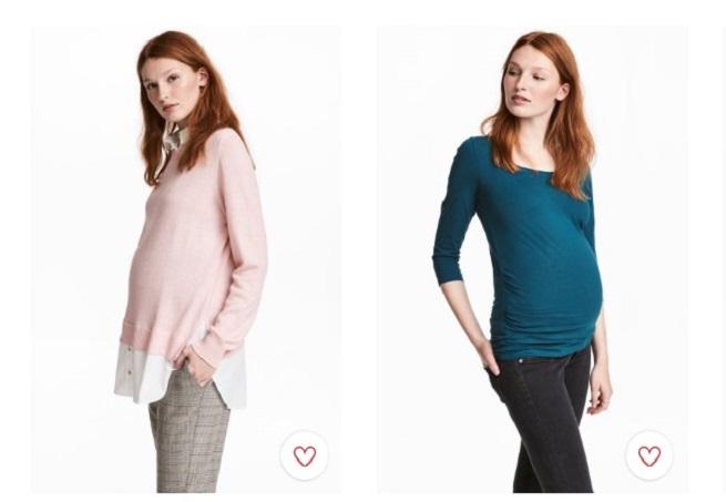 Las mejores prendas otoñales premamá de H&M a tener en cuenta