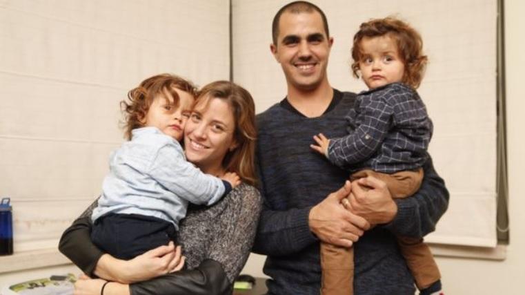 La familia afectada por el síndrome de Ondine
