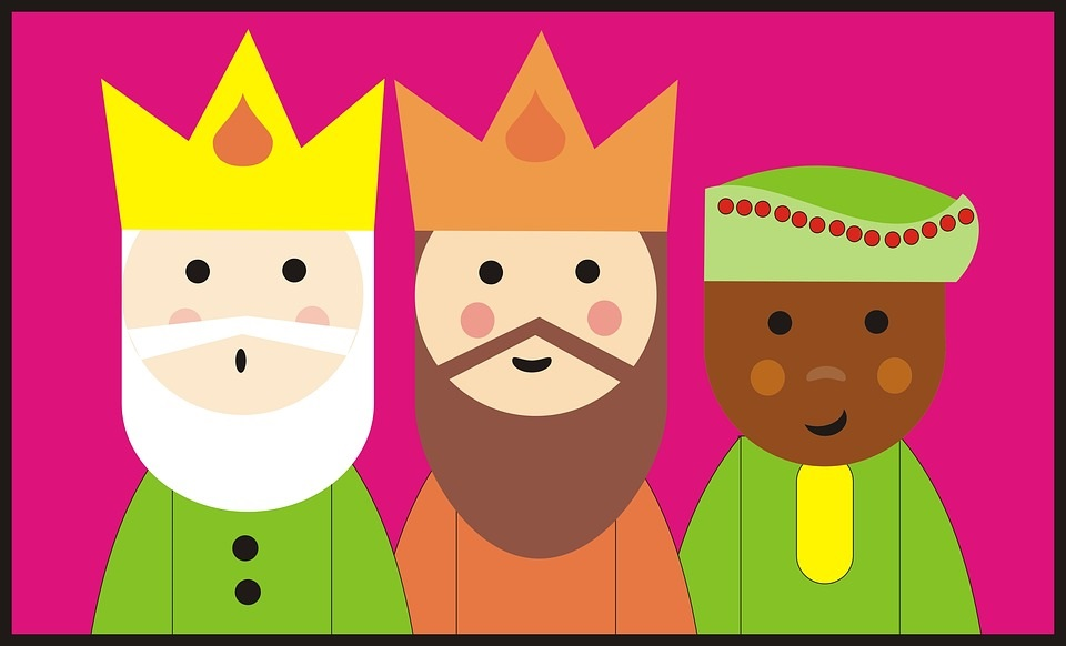 Dibujos Para Colorear De Los Tres Reyes Magos: Reyes Magos: Dibujos Fáciles Para Colorear Y Pintar