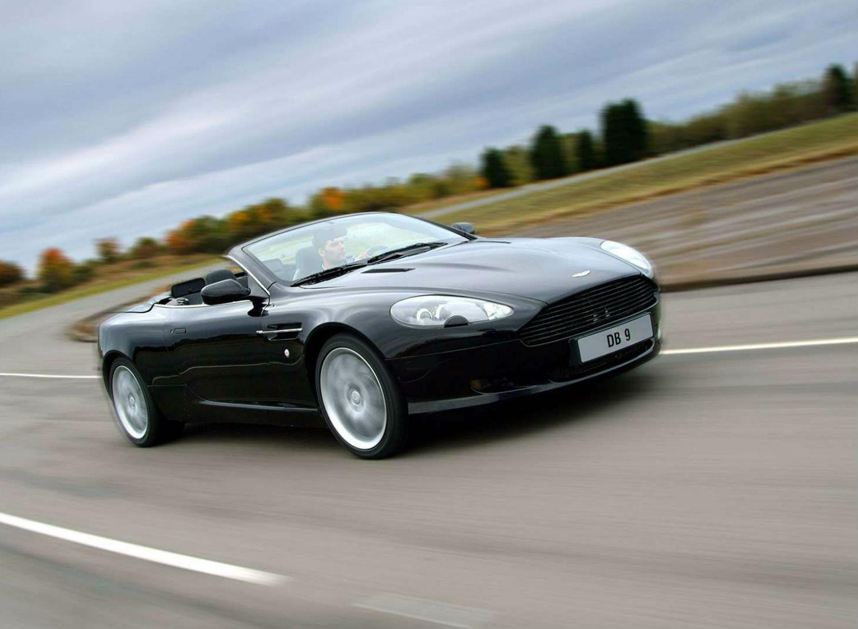 Aston Martin DB9 Volante 2004