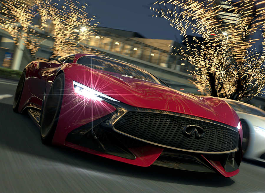 Infiniti Vision Concept Gran Turismo