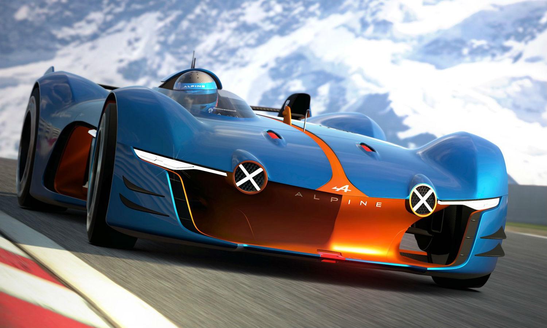 Alpine Vision GT: rienda suelta a la imaginación