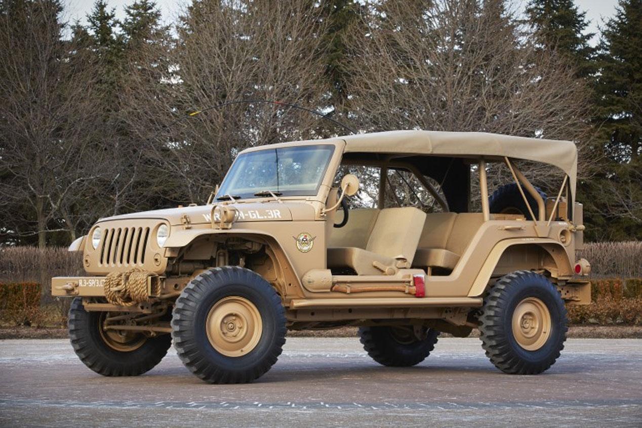 Jeep Wrangler Staff Car
