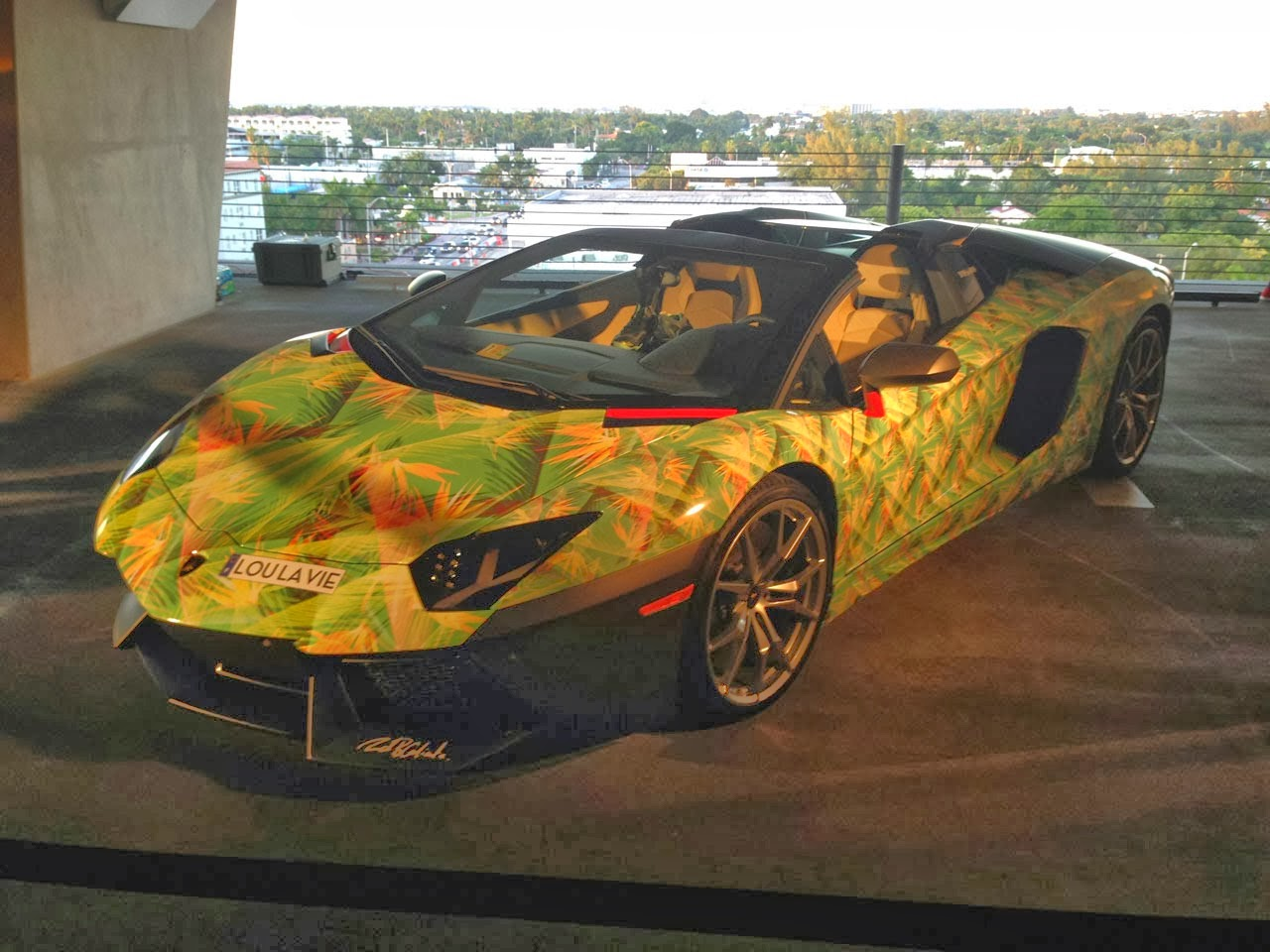 Lamborghini Aventador LeBron James